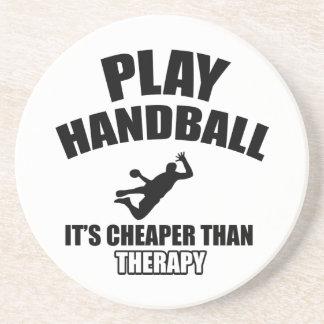 Handball  design coaster