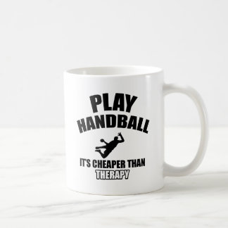 Handball  design coffee mug