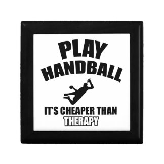 Handball  design gift box