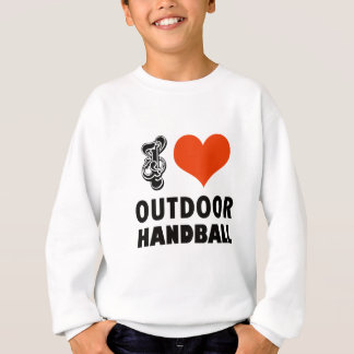 Handball design sweatshirt