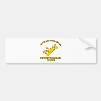 handball DESIGNS Bumper Sticker