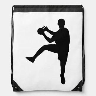 Handball Drawstring Bag