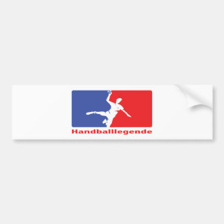 Handball Legende icon Bumper Sticker