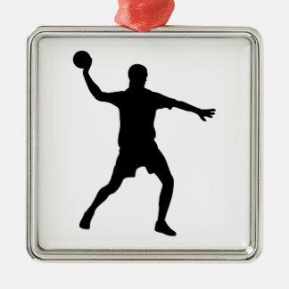 Handball Metal Ornament