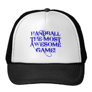 handball most awesome game! trucker hat
