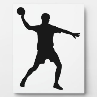Handball Plaque