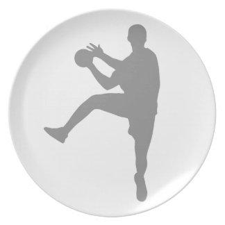 Handball Plate