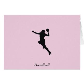 Handball Player Card