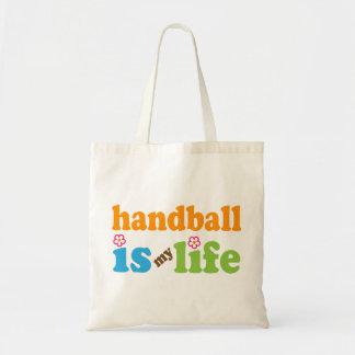 Handball Player Gift Girls Tote Bag
