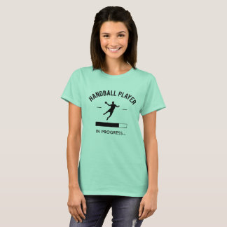 Handball player in progress T-Shirt