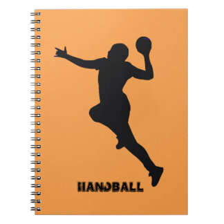 Handball Player Notebook