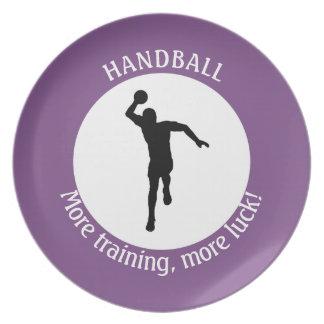 HANDBALL PLAYER PLATE