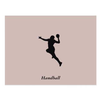 Handball Player Postcard