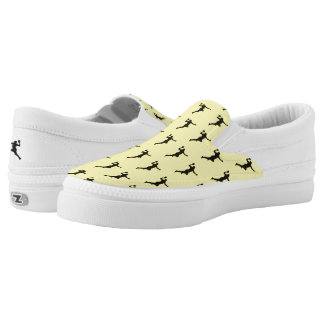 Handball Player Slip-On Sneakers