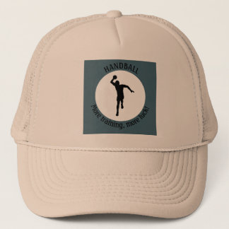 HANDBALL PLAYER TRUCKER HAT