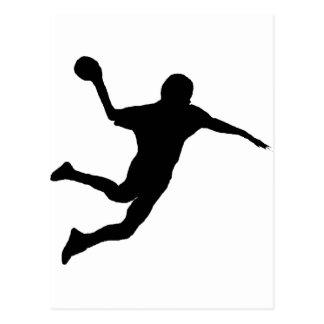Handball Postcard