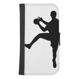 Handball Samsung S4 Wallet Case