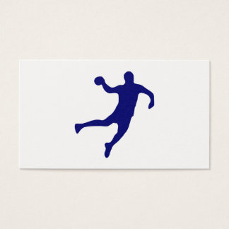 Handball Silhouette Business Card