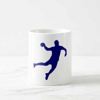 Handball Silhouette Coffee Mug