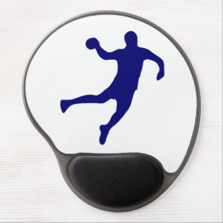 Handball Silhouette Gel Mouse Pad