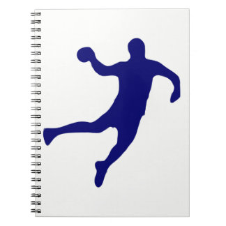 Handball Silhouette Notebooks
