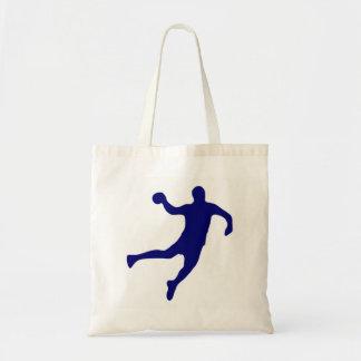 Handball Silhouette Tote Bag