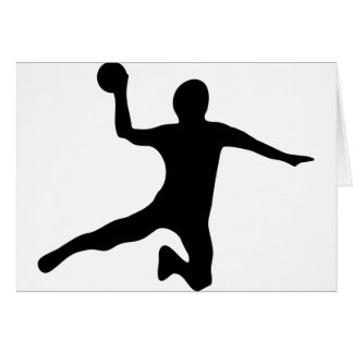 handball spieler dodgeball card