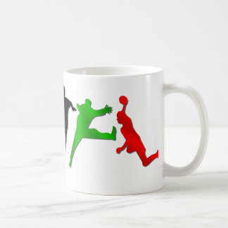 Handball summer games handball players mug