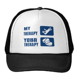 Handball therapy designs trucker hat