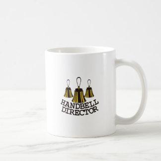 Handbell Director Classic White Coffee Mug