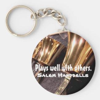 Handbell Keychain