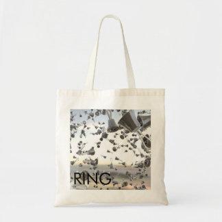 Handbell Music Tote Budget Tote Bag