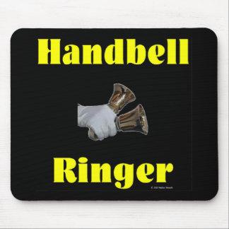 Handbell Ringer Mousepad