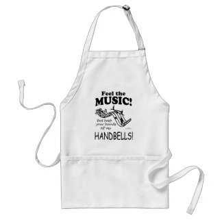 Handbells Feel The Music Standard Apron