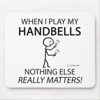 Handbells Nothing Else Matters Mouse Pad