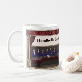 Handbells Rock - vintage Royal orchestra picture Coffee Mug