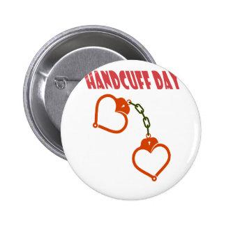 Handcuff Day - Appreciation Day 2 Inch Round Button