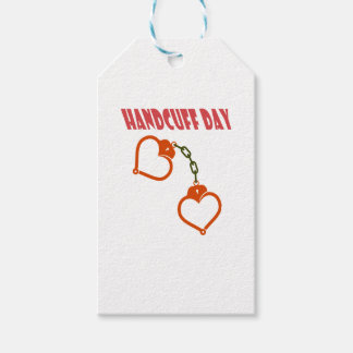 Handcuff Day - Appreciation Day Gift Tags
