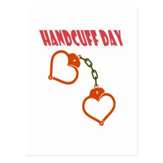 Handcuff Day - Appreciation Day Postcard