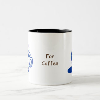 Handdrawn a Cup of Coffee Mug