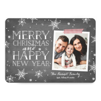 Handdrawn Snowflakes Collection Card