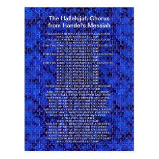 Handel Messiah Christmas Postcard
