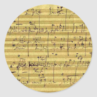 Handel's Messiah Classic Round Sticker