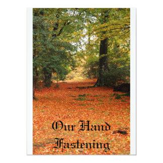 Handfastening Invites