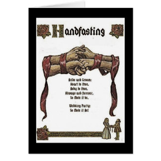 Handfasting Ceremony Greeting Card