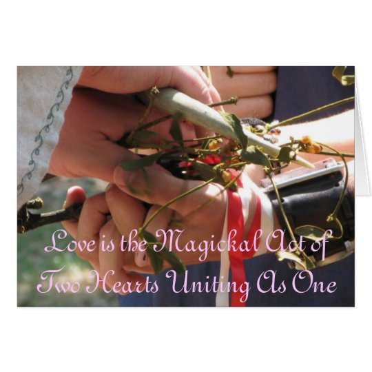 Handfasting/Wedding Invitation