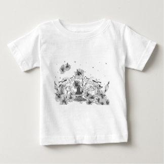 Handguns, Hibiscus and Handcuffs Baby T-Shirt