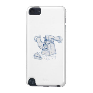Handheld Cheese Grater Grating Watercolor iPod Touch (5th Generation) Case