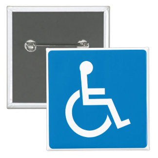 Handicap Accessibility Highway Sign Pins