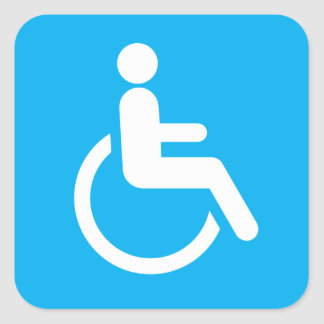 Handicap Stickers